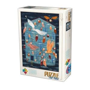 "D-Toys (75970) - ""Owl Tales"" - 1000 piezas"