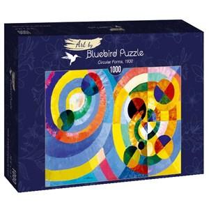 """Bluebird Puzzle (60081) - Robert Delaunay: """"Circular Forms, 1930"""" - 1000 piezas"""