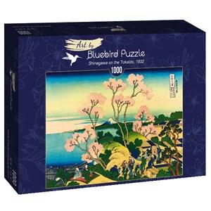 "Bluebird Puzzle (60093) - Hokusai: ""Shinagawa on the Tokaido, 1832"" - 1000 piezas"