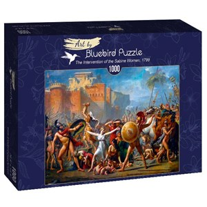 "Bluebird Puzzle (60084) - Jacques-Louis David: ""The Intervention of the Sabine Women, 1799"" - 1000 piezas"