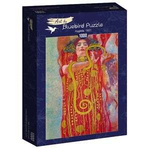 "Bluebird Puzzle (60087) - Gustav Klimt: ""Hygieia, 1931"" - 1000 piezas"