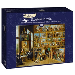 "Bluebird Puzzle (60054) - David Teniers the Younger: ""The Art Collection of Archduke Leopold Wilhelm in Brussels, 1652"" - 1000 piezas"