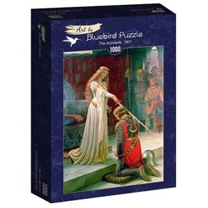 "Bluebird Puzzle (60071) - Edmund Blair Leighton: ""The Accolade, 1901"" - 1000 piezas"