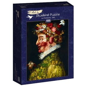 "Bluebird Puzzle (60073) - Giuseppe Arcimboldo: ""La Primavera, 1563"" - 1000 piezas"