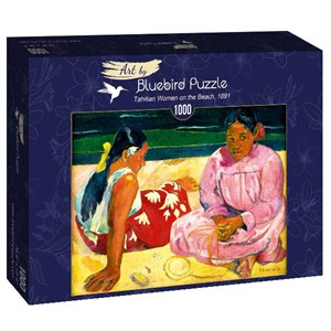 "Bluebird Puzzle (60076) - Paul Gauguin: ""Tahitian Women on the Beach, 1891"" - 1000 piezas"