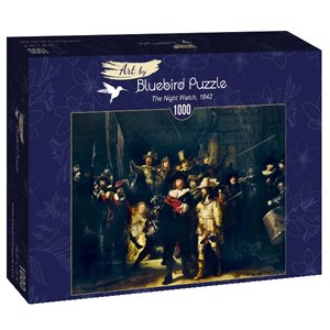 "Bluebird Puzzle (60078) - Rembrandt: ""The Night Watch, 1642"" - 1000 piezas"