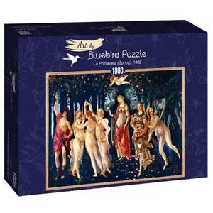 "Bluebird Puzzle (60057) - Sandro Botticelli: ""La Primavera (Spring), 1482"" - 1000 piezas"