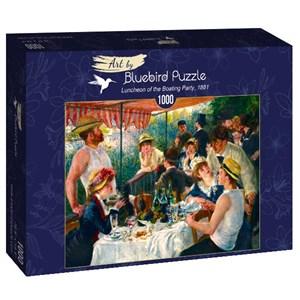 "Bluebird Puzzle (60048) - Pierre-Auguste Renoir: ""Luncheon of the Boating Party, 1881"" - 1000 piezas"