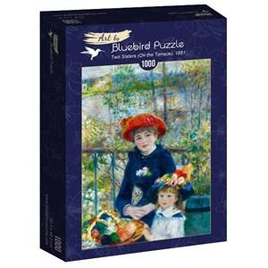 "Bluebird Puzzle (60050) - Pierre-Auguste Renoir: ""Two Sisters (On the Terrace), 1881"" - 1000 piezas"