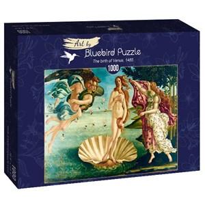 "Bluebird Puzzle (60055) - Sandro Botticelli: ""The birth of Venus, 1485"" - 1000 piezas"