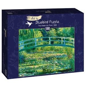 "Bluebird Puzzle (60043) - Claude Monet: ""The Water-Lily Pond, 1899"" - 1000 piezas"