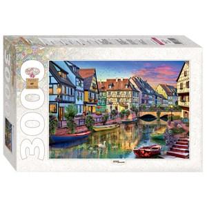 """Step Puzzle (85022) - """"Colmar, France"""" - 3000 piezas"""