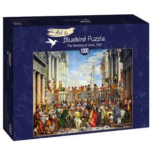 "Bluebird Puzzle (60011) - Paolo Veronese: ""The Wedding at Cana, 1563"" - 1000 piezas"