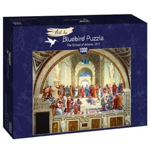 """Bluebird Puzzle (60013) - Raphael: """"The School of Athens, 1511"""" - 1000 piezas"""
