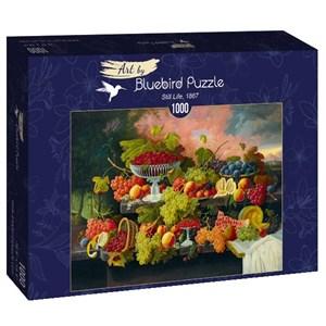 "Bluebird Puzzle (60024) - Severin Roesen: ""Still Life, 1867"" - 1000 piezas"