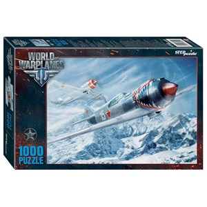 "Step Puzzle (79614) - ""World of Warplanes"" - 1000 piezas"