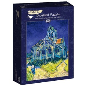 "Bluebird Puzzle (60089) - Vincent van Gogh: ""The Church in Auvers-sur-Oise, 1890"" - 1000 piezas"