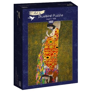 "Bluebird Puzzle (60022) - Gustav Klimt: ""Hope II, 1908"" - 1000 piezas"