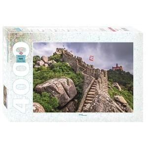 "Step Puzzle (85409) - ""Castelo dos Mouros, Sintra, Portugal"" - 4000 piezas"