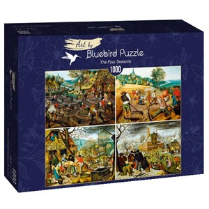 "Bluebird Puzzle (60020) - Pieter Brueghel the Younger: ""The Four Seasons"" - 1000 piezas"