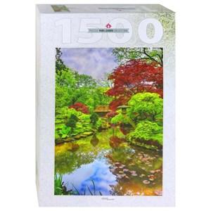 """Step Puzzle (83064) - """"Japanese Garden in Den Haag"""" - 1500 piezas"""