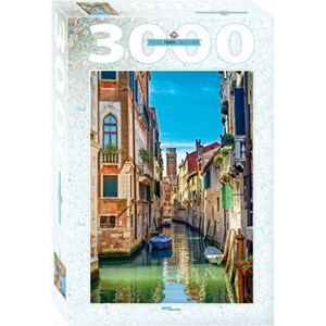 "Step Puzzle (85017) - ""Venice"" - 3000 piezas"