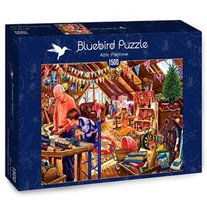 """Bluebird Puzzle (70433) - Steve Crisp: """"Attic Playtime"""" - 1500 piezas"""