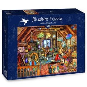 "Bluebird Puzzle (70434) - Aimee Stewart: ""Hidden Object Attic"" - 1500 piezas"