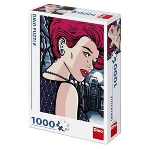"Dino (53271) - ""Pop Art, Mysterious Woman"" - 1000 piezas"