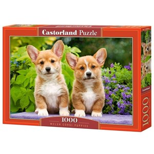 "Castorland (C-104659) - ""Welsh Corgi Puppies"" - 1000 piezas"