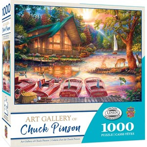 "MasterPieces (71905) - Chuck Pinson: ""Seize the Day"" - 1000 piezas"
