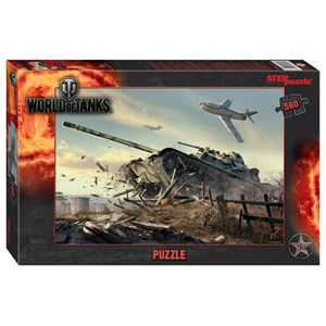 "Step Puzzle (97072) - ""World of Tanks"" - 560 piezas"