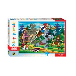 """Step Puzzle (78005) - """"Fairytale"""" - 560 piezas"""