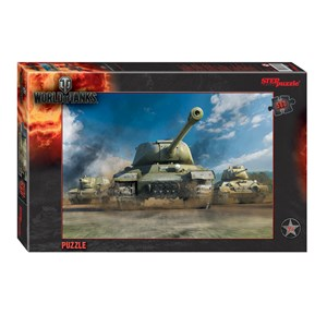 "Step Puzzle (97027) - ""World of Tanks"" - 560 piezas"