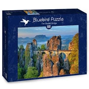 "Bluebird Puzzle (70003) - ""The Bastei Bridge"" - 500 piezas"