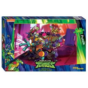 """Step Puzzle (97070) - """"Ninja Turtles"""" - 560 piezas"""