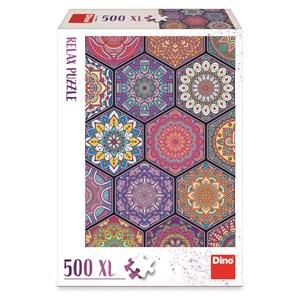 """Dino (51408) - """"Mandala"""" - 500 piezas"""