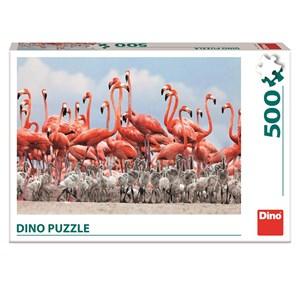 """Dino (50250) - """"Flamingoes"""" - 500 piezas"""