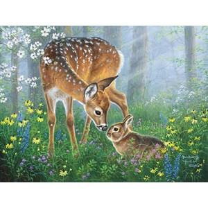 "SunsOut (69641) - Abraham Hunter: ""Forest Friendship"" - 500 piezas"