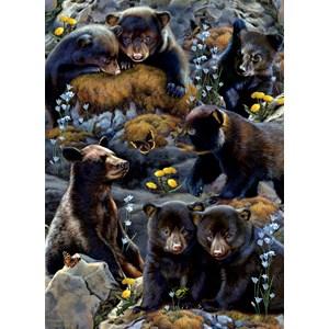 """SunsOut (56452) - Rebecca Latham: """"Bear Cubs"""" - 500 piezas"""