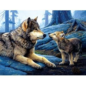 "SunsOut (60966) - Daniel Smith: ""Brother Wolf"" - 500 piezas"