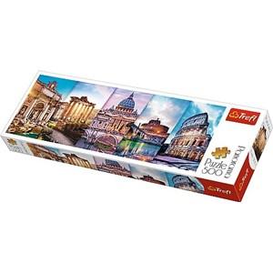 "Trefl (29505) - ""Collage, Rome"" - 500 piezas"
