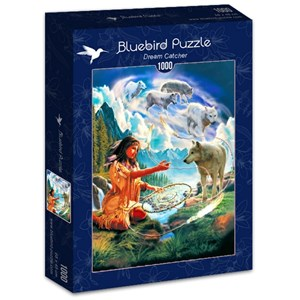 "Bluebird Puzzle (70126) - Robin Koni: ""Dream Catcher"" - 1000 piezas"