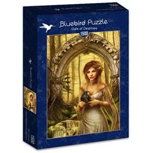 """Bluebird Puzzle (70428) - Cris Ortega: """"Gate of Destinies"""" - 1500 piezas"""