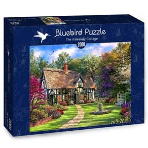 """Bluebird Puzzle (70196) - Dominic Davison: """"The Hideaway Cottage"""" - 2000 piezas"""