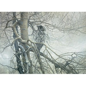 "Cobble Hill (51769) - Robert Bateman: ""Ghost of the North"" - 1000 piezas"
