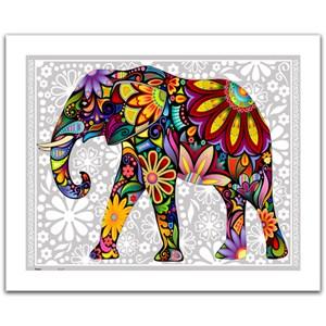 "Pintoo (h1479) - ""The enthusiastic elephant"" - 500 piezas"