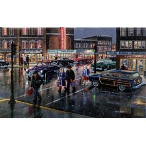 "SunsOut (39388) - Ken Zylla: ""Christmas Crosswalk"" - 300 piezas"