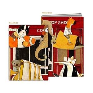 """Pintoo (y1024) - Nan Jun: """"Puzzle Cover, Slow Down"""" - 329 piezas"""