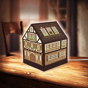 "Pintoo (r1006) - ""House Lantern, Half-Timbered House"" - 208 piezas"